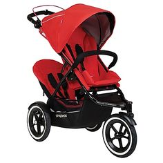 Offering agile, all-terrain performance and comfort for two, the phil&teds Sport Stroller with Double Kit can easily traverse paved or unpaved paths with ease. Inline design fits through narrow doors and features Auto Stop for convenience and safety.