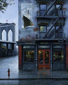 Brooklyn bridge cafe #NYC