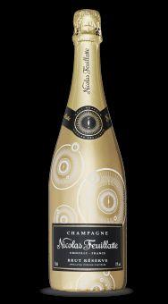 Champagne Nicolas Feuillatte Brut Réserve : Sleeve Boussole Or