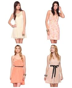 Blush colors...I'll take one of each please!