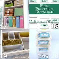 cute home organizing ideas. 35 DIY Home Organizing Ideas  Organizations Organization ideas