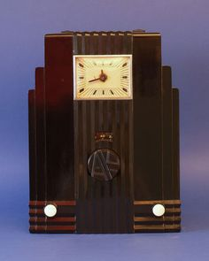 "U.S. Air King Model 66 ""Skyscraper"" Radio, 1933"