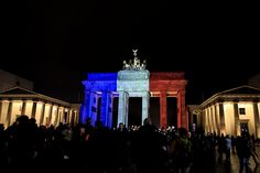 Monuments Around the World Lit Up in Support of France with One Exception.