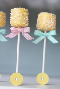 Rattle treats #babyshower