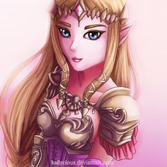 Zelda | Warrior Princess by Kailycious