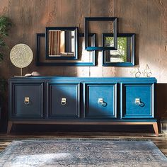 Store your extra dinnerware, flatware, and table linens in a buffet table or sideboard. Shop our great selection of stylish buffet tables and sideboards. Furniture Projects, Home Furniture, Furniture Design, Classic Furniture, Side Board, Cabinet Furniture, Painted Furniture, Repurposed Furniture, Sideboard Buffet