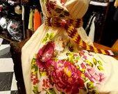 Vestido Bonequinha de Luxo GG estampado