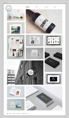 The Web Aesthetic — Showcasing The Best in Web Design Layout Design, Interaktives Design, Site Web Design, Grid Design, Web Layout, Blog Design, Web Design Gallery, Web Gallery, Gallery Website