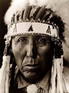 Cheyenne Indian Warrior, Red Bird 1927, Edward S. Curtis