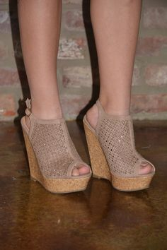 Uptown Downtown Wedges from The Muddy Pearl