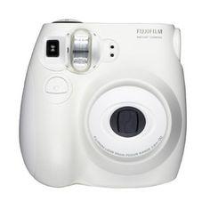 #Fuji Instax Mini 7S Film Camera - #White  #camera #filmcamera #stockingstuffer