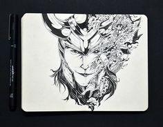 Moleskine Doodles 3 on Behance | Drawing | Draw | Illustration | Ink | Unipin | Moleskine | Sketch | Sketchbook | Layout | Pen | Black | Desenho | Traço | Rabisco | Rascunho |