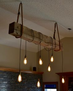 Edison bulb chandelier in this new conference room knation 1930s structural beam edison bulb light fixture project mozeypictures Choice Image