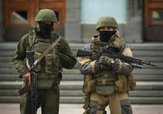 Russian Special Forces Operator during Crimea Invasion 2014.