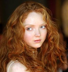"Lily Cole, Model (she reminds me of the MC on Disney's ""Brave"") (I agree ^^ = Merida)"