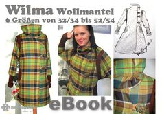 Fashion Tutorials – E-Book, Coat Step by Step sewing instruction – a unique product by firstloungeberlin on DaWanda