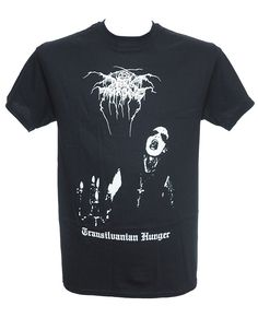 Dark Throne - Transilvanian Hunger Heavy Metal Fashion, Metal Shirts, Menswear, Dark, Mens Tops, How To Wear, T Shirt, Style, Supreme T Shirt