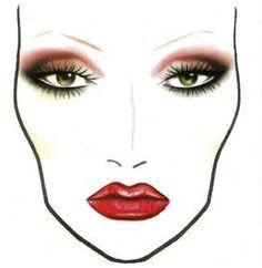 FREE Mieoko Kabuki Brush From The American Beauty Association Mac Makeup, Makeup Tips, Mac Face Charts, Makeup Face Charts, Makeup Drawing, Blusher, Makeup Forever, Interesting Faces, Eye Make Up
