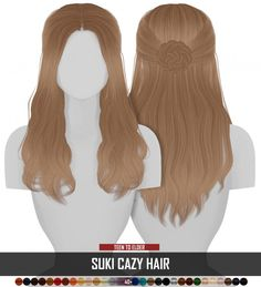 sims 4 clothes Sims 4 Hairs ~ Coupure Electrique: Cazy`s Suki hair retextured Coupure Electriques Cazy`s Suki hair retextured - Long hairstyles ~ Sims 4 Hairs Sims 3, Sims 4 Teen, Sims 4 Toddler, Sims Four, Sims 4 Cas, Packs The Sims 4, Die Sims 4 Packs, Los Sims 4 Mods, Sims 4 Game Mods