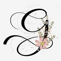 Alphabet Design, Alphabet Art, Flower Background Wallpaper, Flower Backgrounds, Lettering Design, Hand Lettering, Alphabet Wallpaper, Apple Watch Wallpaper, Diy Mugs