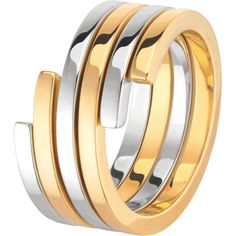 Spirale ring - yellow gold and white gold I wish I have it