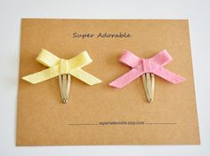 Hey, I found this really awesome Etsy listing at https://www.etsy.com/listing/294574951/set-of-2-skinny-bow-hair-clip