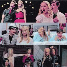 Quinn and Kurt...