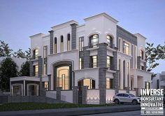 House Balcony Design, Bungalow House Design, House Front Design, House Design Photos, Classic Architecture, Modern Architecture House, Architecture Details, Classic House Design, Dream Home Design