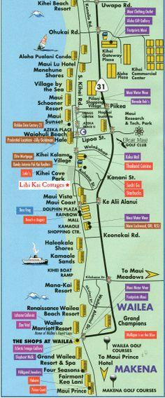 Kihei and Wailea Maui - Google My Maps