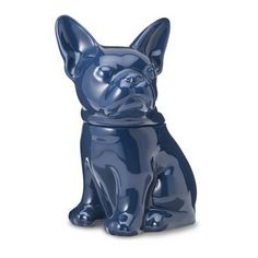 These sophisticated-yet-playful cookie jars from Target can hold treats for either humans or dogs.