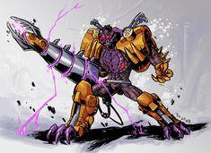 Transformers Beast Wars Transmetals Megatron.
