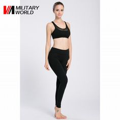Woman Gym Yoga Tights Pants Sportswear High Elastic Fitness Running Camping Cycling Long Pant Trousers Breathable Clothing
