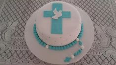 Boy Communion Cake, Birthday Cake, Birthday Parties, Cake Pops, Christening, Tapas, Fondant, Cake Decorating, Baby Shower