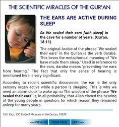 Kehf 11.Ayet: Bunun üzerine yıllarca mağarada kulakları üzerine vurduk (uyuttuk).