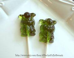 12 Barley Sugar Hard Candy Lollipops Birthday Party Favors