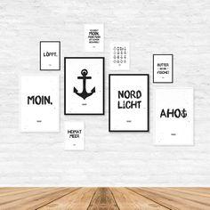 Maritime Prints & Poster für maritime Dekoration Zuhause von www.heimatmeer.de <<