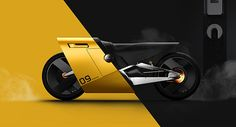 A concept of electronic motorcycle, X9 is smart vehicle for urban life.