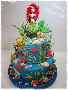 zeemeermin taart - Google zoeken