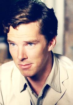 Benedict Cumberbatch - I'm starting to become strangely attracted to him. I know. Don't judge me.