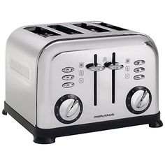 Buy Morphy Richards Accents 4-Slice Toaster Online at johnlewis.com £29.97