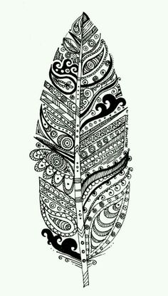 Online Feather Difficult Coloring Pages For Grown Ups