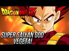 """""""Dragon Ball Z"""" """"Dragonball Z Battle of Gods"""" """"Super Saiyan God Vegeta"""" Has been confirmed. He even claims his turn to be next at channeling this tremendous power! Goku was able to learn/memorize some of the Gods power even after it wore off..Vegeta may be able to do the same and they can boost their power levels even more! They have 3 years to ..."""