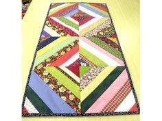 Tapetes coloridos com retalhos de tecidos - imagem 10