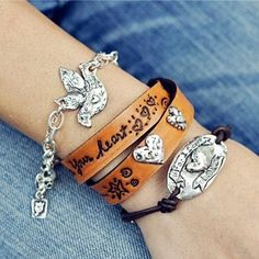 Island Cowgirl Jewelry Bracelets.  Check out more at islandcowgirl.com
