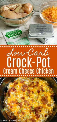 Keto Crockpot Recipes, Crockpot Dishes, Crock Pot Cooking, Slow Cooker Recipes, Healthy Recipes, Cooking Recipes, Crockpot Meals, Vegetarian Recipes, Low Carb Slow Cooker