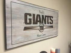 Man Cave Football Signs : Titans football sports man cave sign