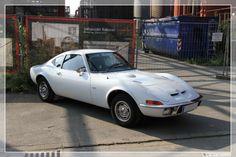 Opel gt white 1971