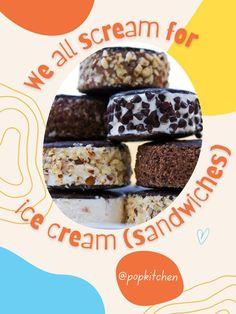 We All Scream for Homemade Ice Cream Sandwiches That Taste as Good as Gourmet Treats #Icecream #icecreamsandwiches #dessert #summerdesserts #cookies Nabisco Chocolate Wafers, Homemade Ice Cream Sandwiches, Ice Cream Containers, Mint Chocolate Chips, Summer Desserts, Treats, Icecream, Food, Cookies
