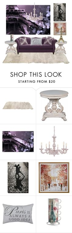 """paris parfait"" by tanyaq ❤ liked on Polyvore featuring interior, interiors, interior design, home, home decor, interior decorating, Crystorama, Park B. Smith and parisapartment"