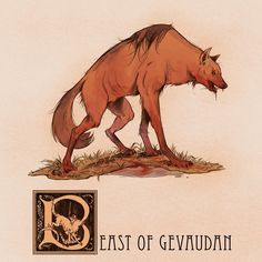 B is for The Beast of Gevaudan by Deimos-Remus on DeviantArt